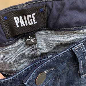Paige Manhattan stretch bootcut jeans